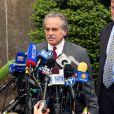 Conférence de presse des deux avocats chargés de l'affaire Dominique Strauss-Kahn, le 16 mai 2011, New York