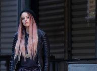 Amber Heard, la métamorphose : Méconnaissable dans un look de rockeuse punk