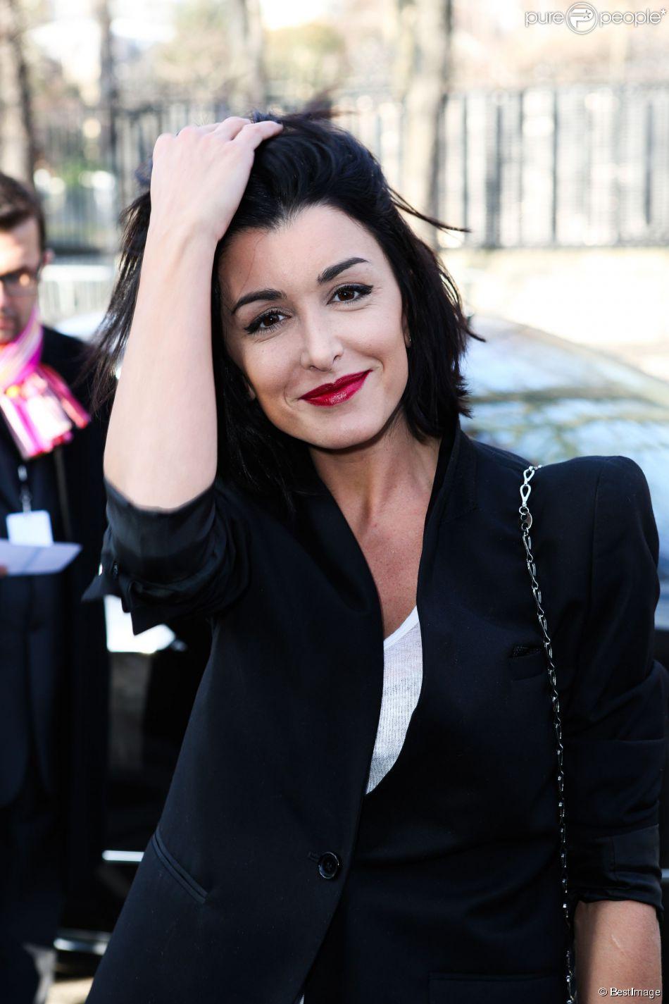 """Jenifer -Défilé de mode Prêt-à-Porter Automne-Hiver 2013/2014 """"Paco Rabanne"""" à Paris, le 4 mars 2013."""