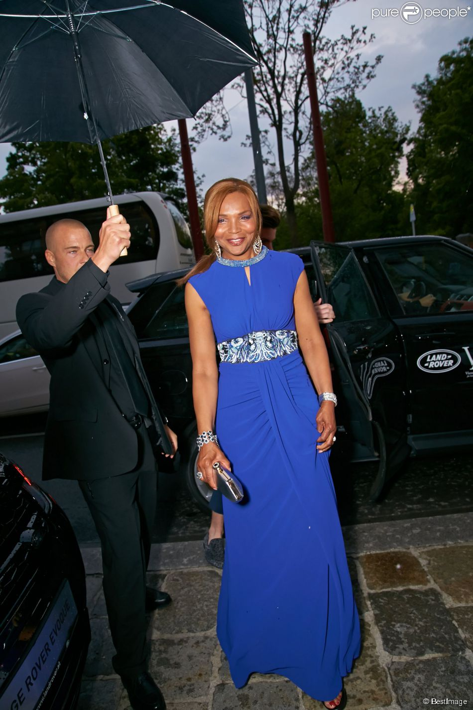 Valerie campbell arrive la c r monie des vienna awards for Wohndesign pure vienna 2014