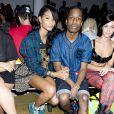 Chanel Iman et A$AP Rocky, le 11 septembre 2013.