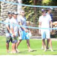 Exclusif - George Clooney en vacances à Cabo san Lucas le 11 avril 2014.