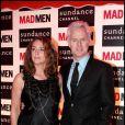 John Slattery et Talia Balsam (ex de George Clooney) à Paris le 8 février 2011