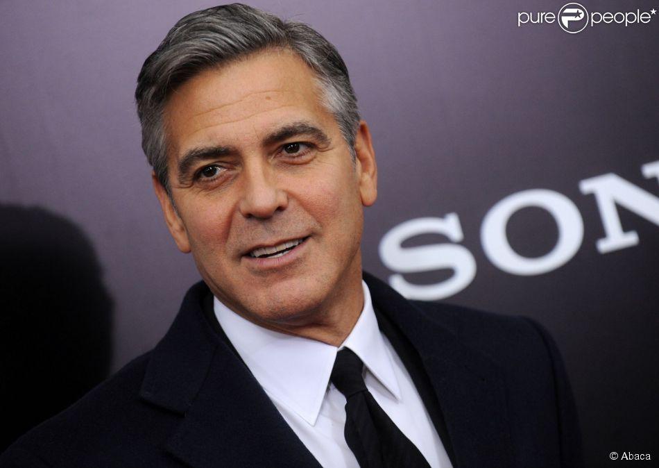 George Clooney à New York le 4 février 2014