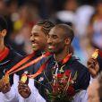 Au centre : Carmelo Anthony, Kobe Bryant