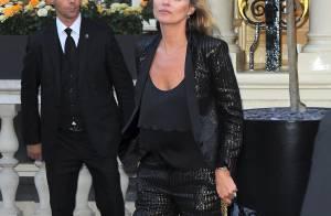 Kate Moss : Radieuse pour le lancement de sa collection pour Topshop