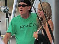 Charlie Sheen, en route vers le mariage : Sa sulfureuse fiancée enfin divorcée