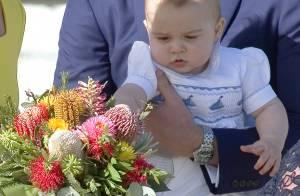 George de Cambridge : Le petit prince de William et Kate, cette fleur fragile...