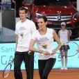 Nieves Alvarez et Andy Murray lors du gala de charité organisé par Rafael Nadal et Iker Casillas à Madrid en Espagne le 2 mai 2014 avant le Master de Madrid
