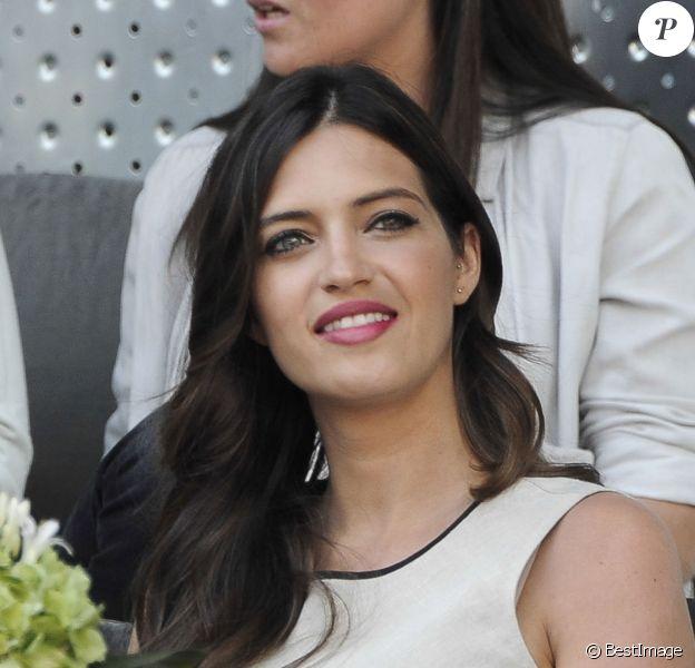 Sara Carbonero lors du gala de charité organisé par Rafael Nadal et Iker Casillas à Madrid en Espagne le 2 mai 2014 avant le Master de Madrid