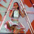 Katy Perry sur scène lors de sa tournée Prismatic Tour le 7 mai 2014 à Belfast