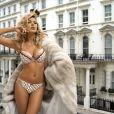 Tetyana Veryovkina expose ses sulfureuses formes pour la marque de lingerie Kinga.