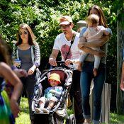 Robert Downey Jr. et Jeremy Renner : Des Avengers papa-poules, en sortie au zoo