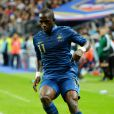 Moussa Sissoko au Stade de France le 12 octobre 2012.