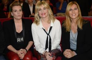 Mathilde Seigner, fière et complice avec ses soeurs Emmanuelle et Marie-Amélie