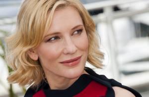 Cannes 2014 : Cate Blanchett, étincelante, plane avec les héros de Dragons 2