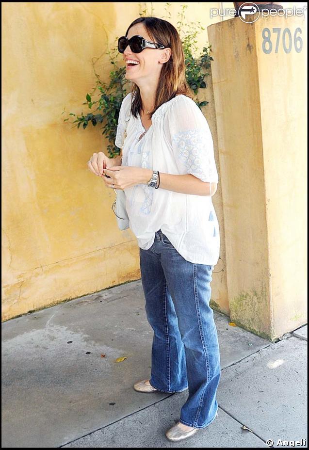 Jennifer Garner, enceinte et radieuse
