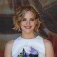 Jennifer Lawrence en Dior lors du photocall pour Hunger Games 3 : Mockingjay (La Révolte) à l'occasion du 67e Festival de Cannes, Hôtel Majestic, le 17 mai 2014.