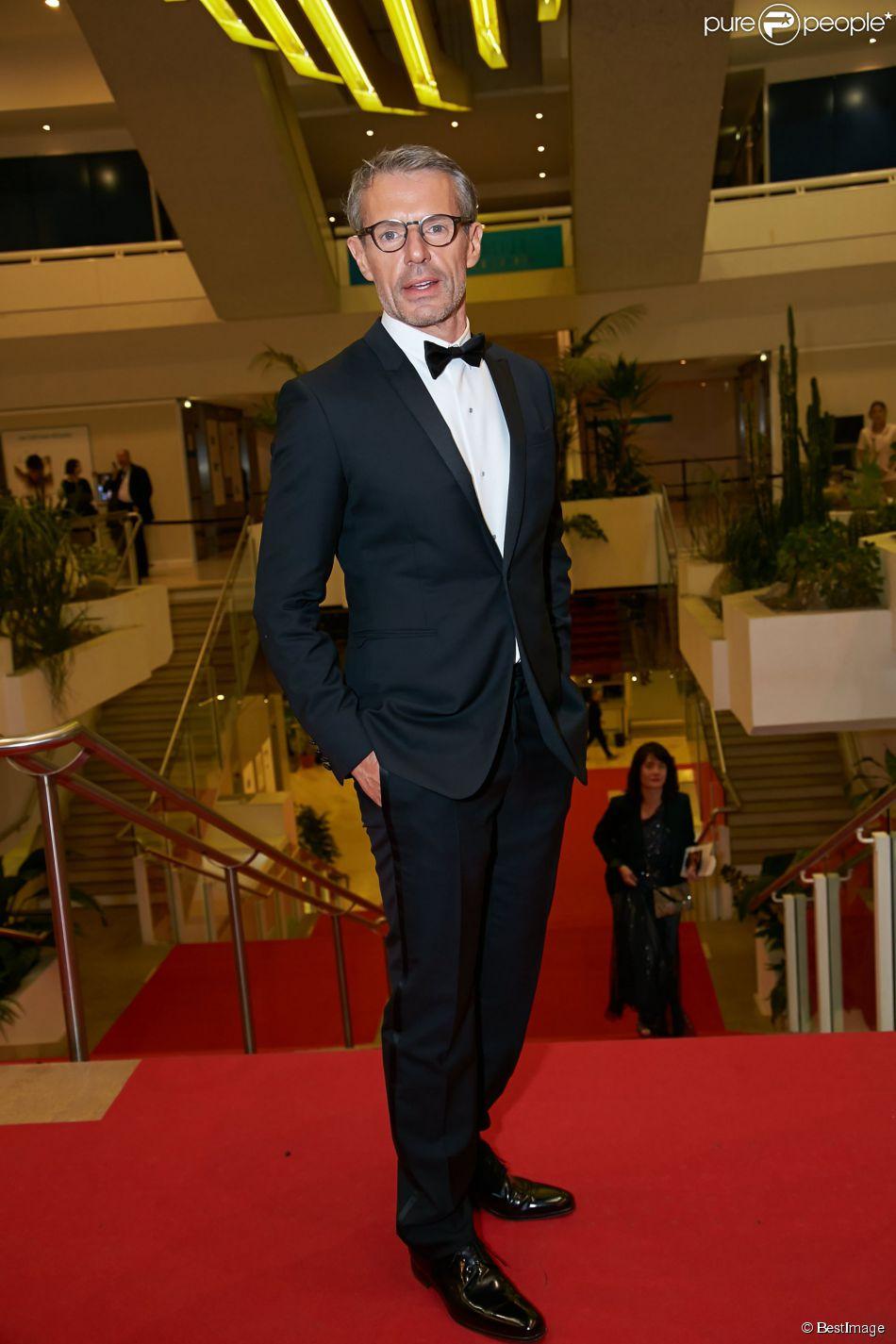 Lambert Wilson lors du dîner d'ouverture du 67e Festival du film de Cannes, le 14 mai 2014.