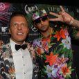 Jean Roch et Booba au VIP Room. Cannes, le 19 mai 2014.