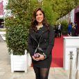 Marion Bartoli lors du Qatar Prix de l'Arc de Triomphe à l'hippodrome de Longchamp à Paris, le 6 octobre 2013