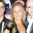 """Andrée Deissenberg et la troupe du spectacle """"Desirs"""" du Crazy Horse, le 21 septembre 2013."""
