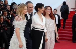 Cannes 2014 : Kristen Stewart, rousse élégante devant l'angélique Chloë Moretz