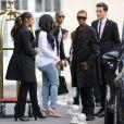 Blac Chyna et Tyga s'envolent de l'aéroport du Bourget pour Florence. Le 24 mai 2014.