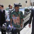 Big Sean arrive à l'hôtel Four Seasons à Florence, le 24 mai 2014.