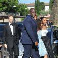 Le réalisateur Steve McQueen arrive au Fort Belvedere pour assister au mariage de Kim Kardashian et Kanye West. Florence, le 24 mai 2014.