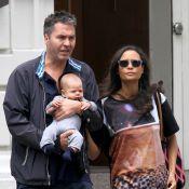 Thandie Newton, maman fashion et rayonnante : Virée relax avec mari et bébé