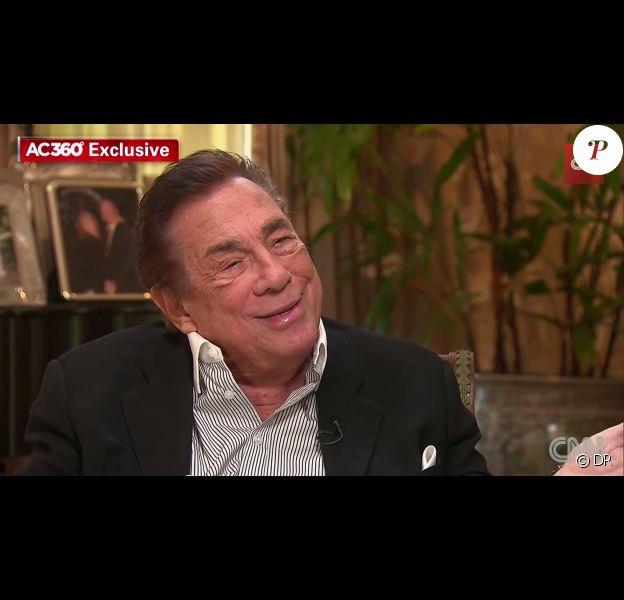 Donald Sterling, dans une interview donnée à CNN, publiée sur Youtube le 12 mai 2014
