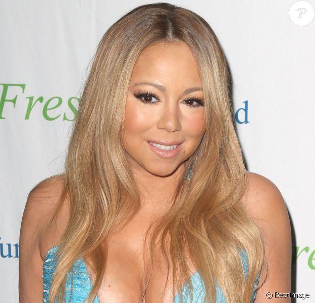 Mariah Carey sur le tapis rouge de la soirée Fresh Air Fund à New York, le 29 mai 2014.
