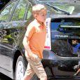 Deacon, le fils de Reese Witherspoon, à une fête d'anniversaire à Brentwood, le 1er juin 2014. P