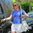 Reese Witherspoon emmène son fils Deacon à une fête d'anniversaire à Brentwood, le 1er juin 2014.