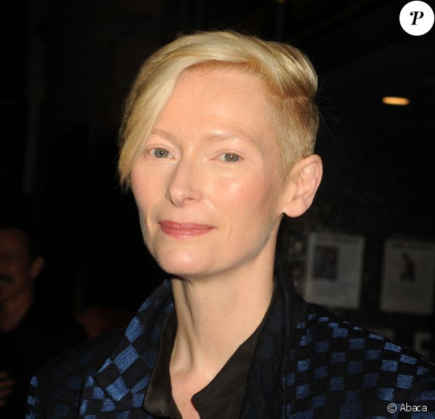 Tilda Swinton à New York le 12 mars 2014.