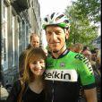 Jos van Emden et sa fiancée Kimberly Herpelinck