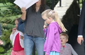 Jennifer Garner : Reine du shopping avec Violet, maman-poule avec ses enfants