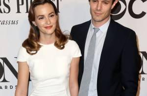 Leighton Meester et Adam Brody : Jeunes mariés radieux pour leur 1er red carpet