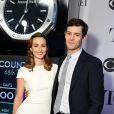 """Adam Brody et Leighton Meester lors de la 68ème cérémonie des """"Tony Awards"""" à New York, le 8 juin 2014."""