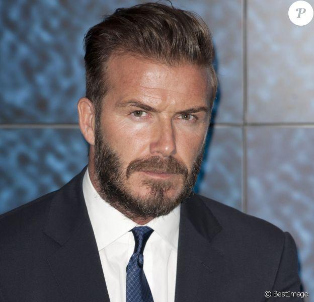 David Beckham lors du lancement de la campagne United for Wildlife au Google Town hall de Londres le 9 juin 2014