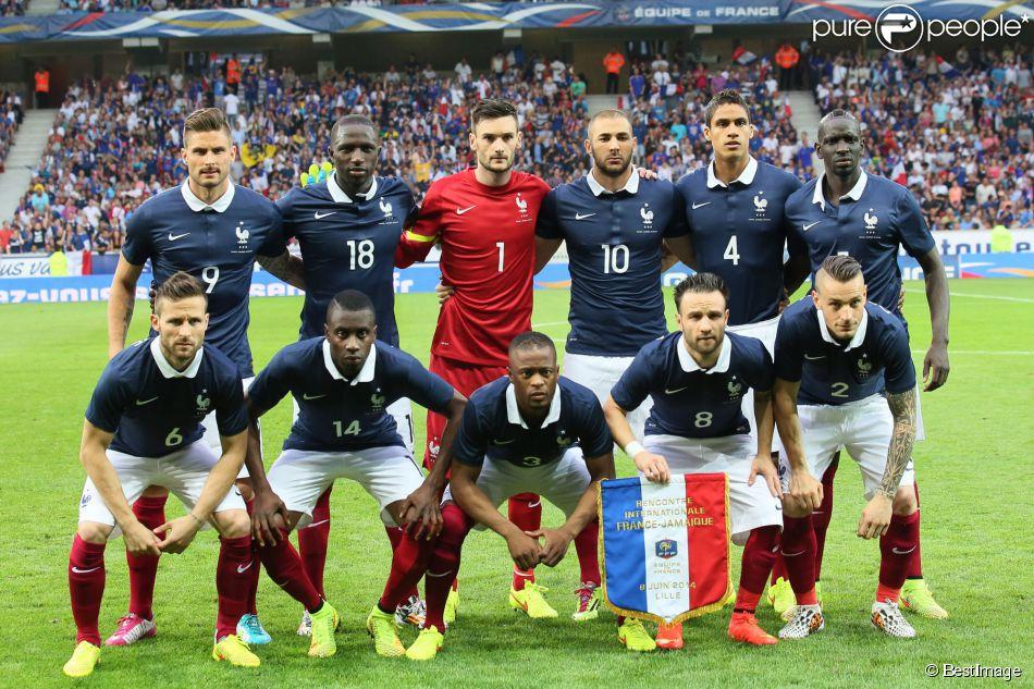 Equipe de France - Match amical France-Jamaïque à Lille le 8 juin 2014.