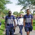 Paul Pogba - Les joueurs de l'équipe de France de football se promènent au parc du Héron - Villeneuve d'Ascq avant leur rencontre en match amical contre la Jamaïque le 8 juin 2014.