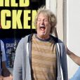 Jeff Daniels grimace sur le tournage de Dumb and Dumber To à Atlanta, le 4 octobre 2013.