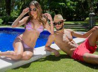 Vanessa Lawrens et Julien (Les Anges) : Glamour et sexy, le couple prend la pose