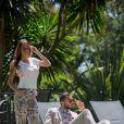 Exclusif - Julien Guirado et Vanessa Lawrens (Les Anges de la télé réalité 6) au Domaine Bertaud Belieu le 16 mai 2014.