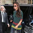 Victoria Beckham dans les rues de New York le 6 mai 2014