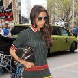 Victoria Beckham le 6 mai 2014 se promène dans les rues de New York