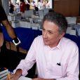 Michel Drucker - Festival du livre de Nice. Le 14 juin 2014 14/06/2014 - Nice