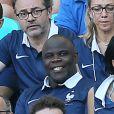 Basile Boli lors du match entre la France et la Suisse, le 20 juin 2014 à l'Arena Fonte Nova de Salvador de Bahia
